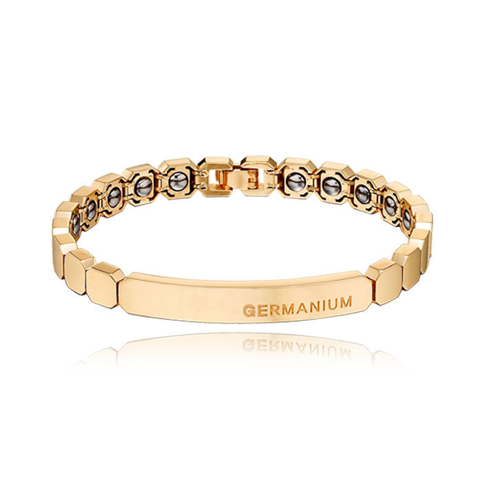 14K / 18K Gold Germanium Bracelet N0,113-19cm