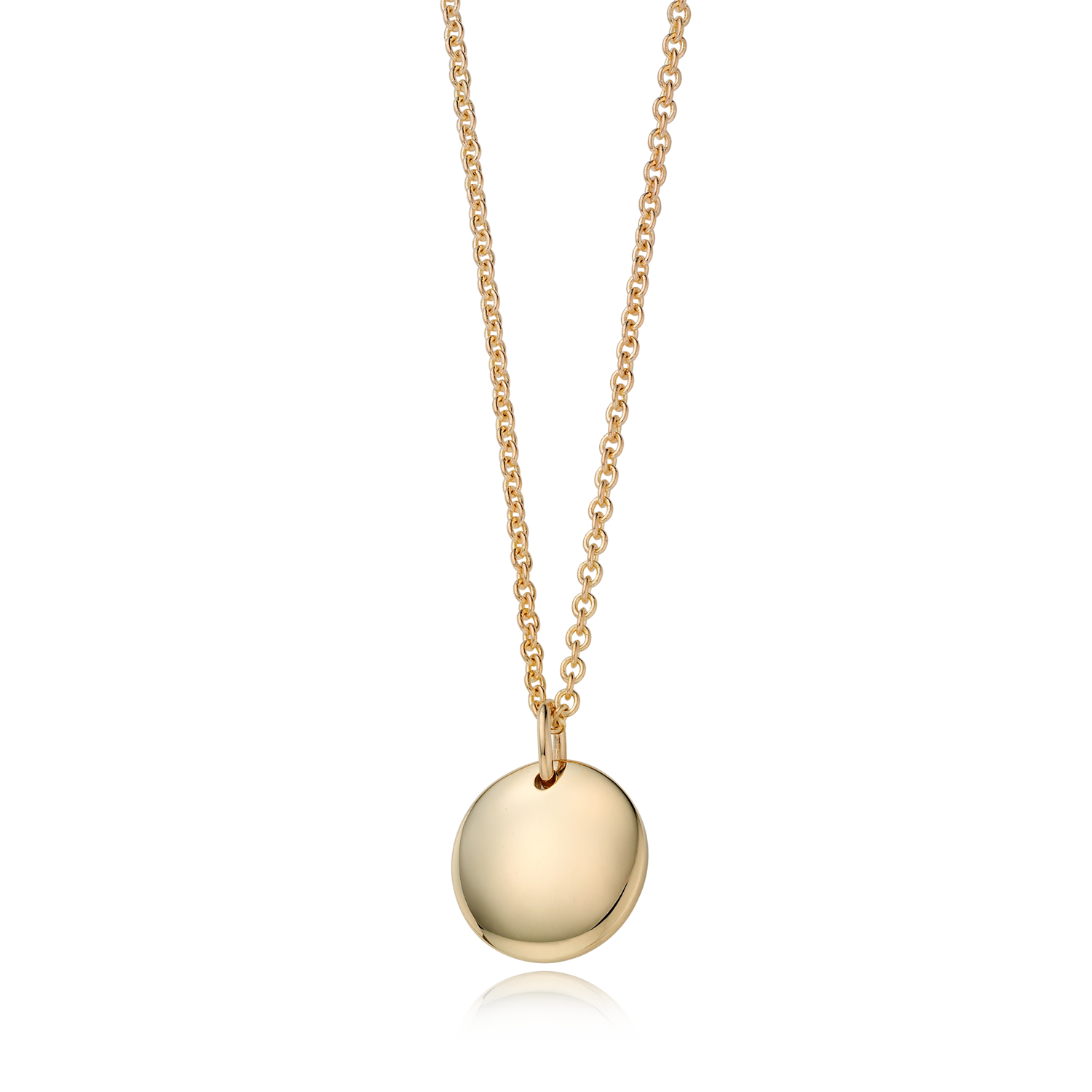 kaiu Lady 14k Gold Round Necklace
