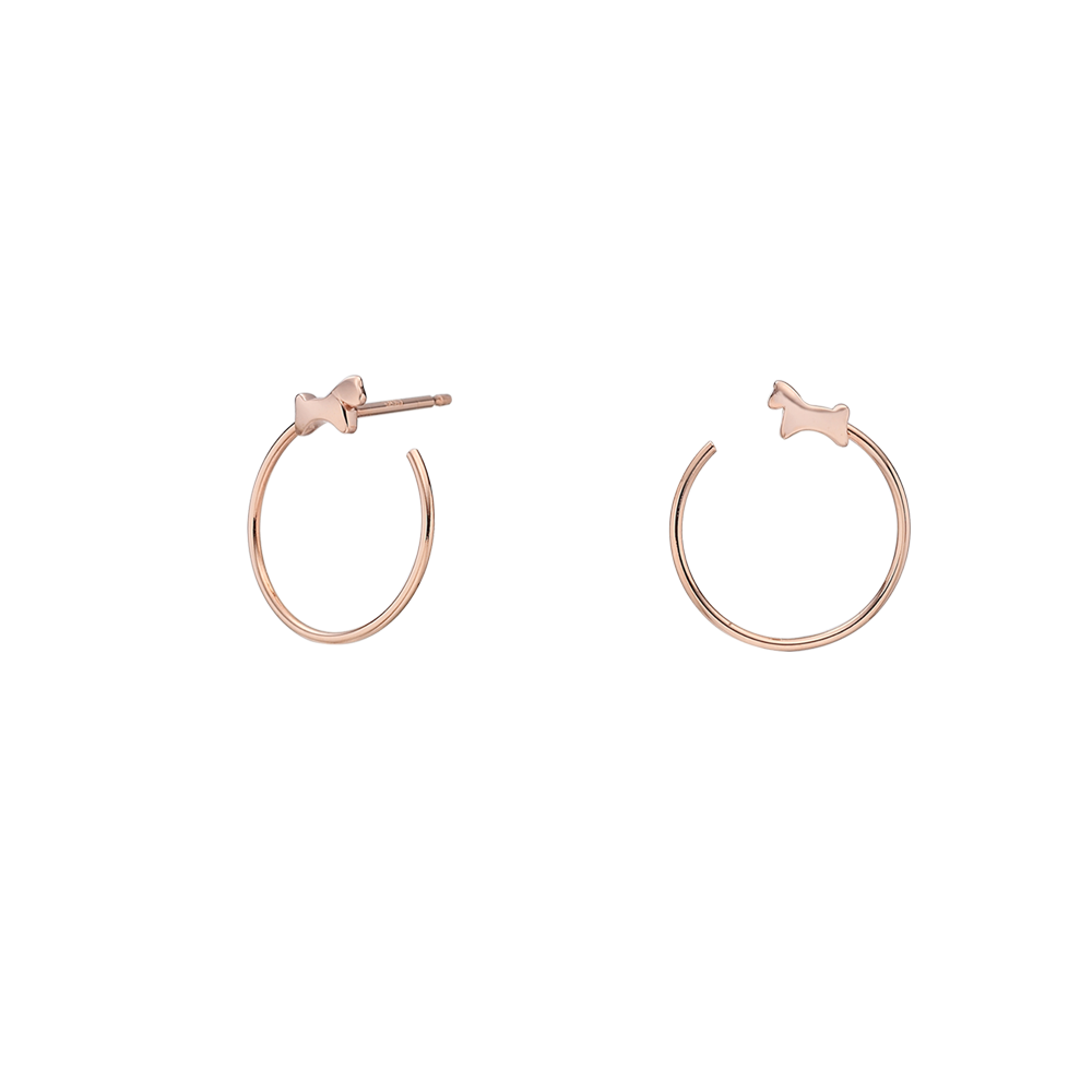 14k Elle Kaiu E3 Earrings No.7-Horse
