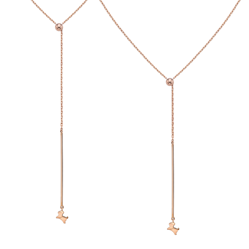 14K Rose Gold Elle Cayeu N2 Necklace No.11-Bag