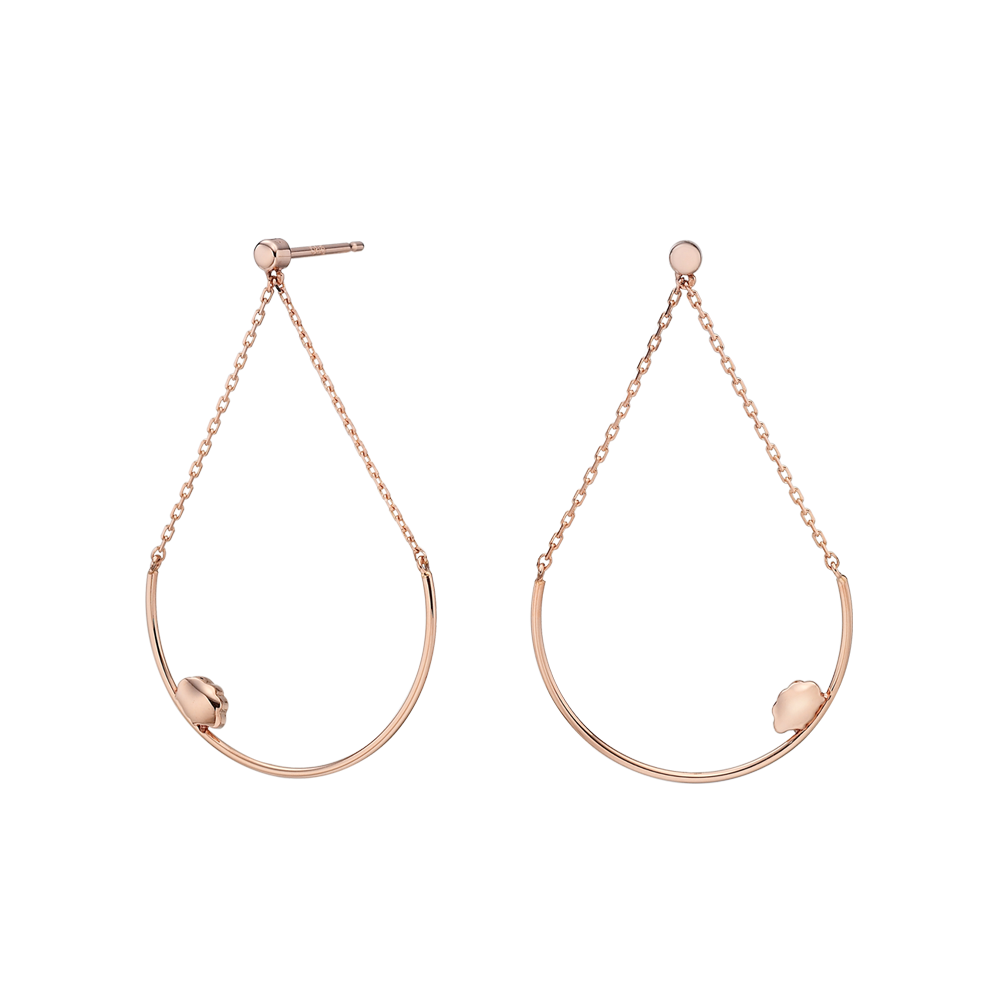 14k Elle Kaiu E2 Earrings No.8-Sheep