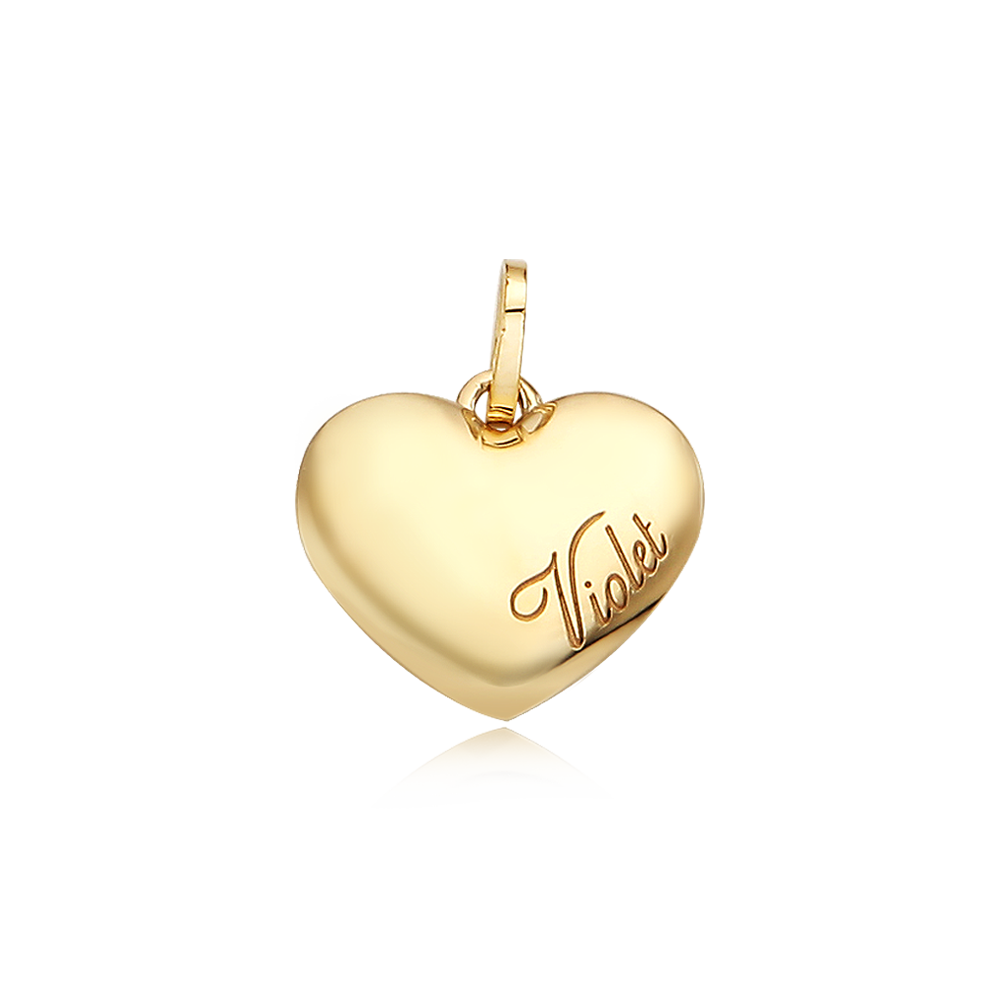 14k/18k Kaiu Simple Heart Pendant