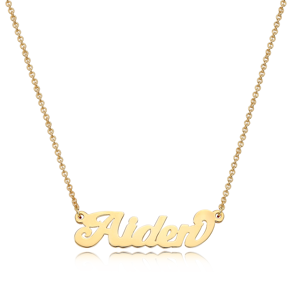 14K / 18K Gold Grace Name Necklace
