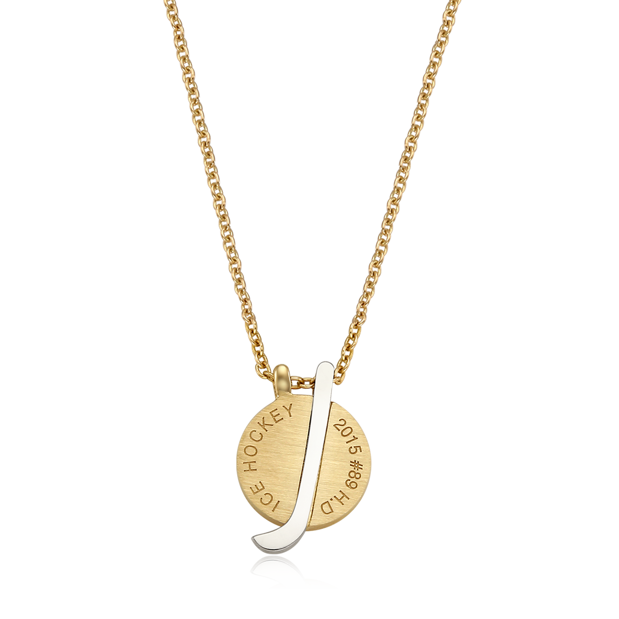 14k/18k Gold Group Custom Made - Ice Hockey Team Necklaces