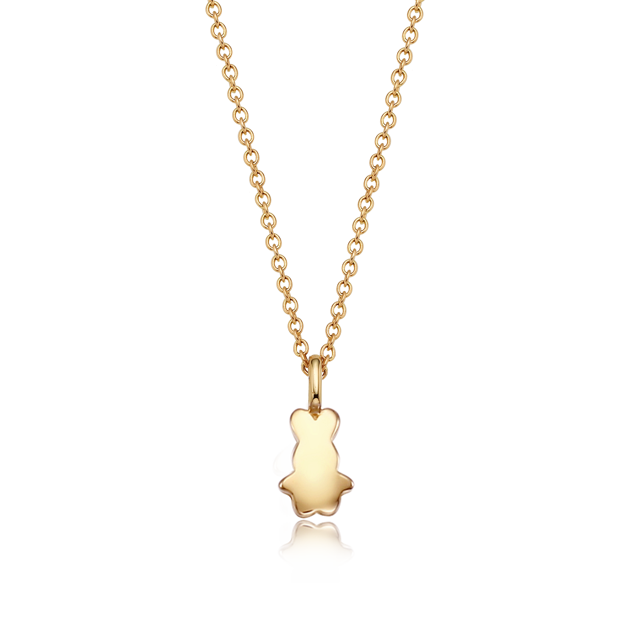 14K/18k Gold Mini Oriental Zodiac Rabbit Necklace