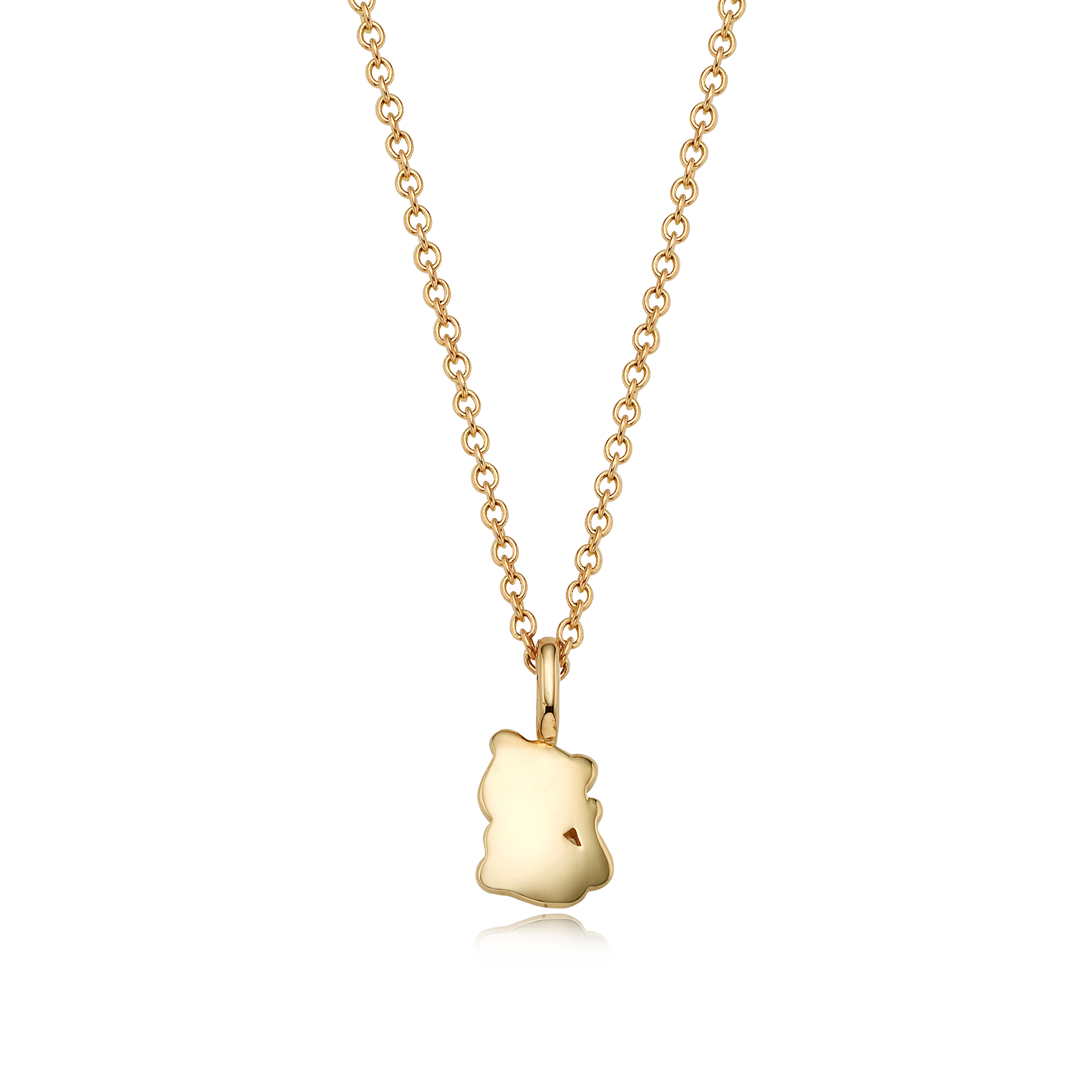 14K/18k Gold Mini Oriental Zodiac Tiger Necklace